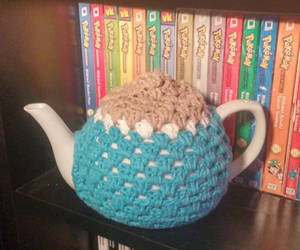 Squritle Inspired Tea Cosy by Wykked-As-Syn