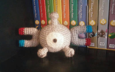 Magnemite Amigurumi by Wykked-As-Syn