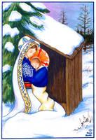 Madonna and Child of Tamaracks by FireFiriel