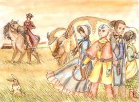 Avatar Western by FireFiriel