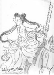 Selena sketch by FireFiriel