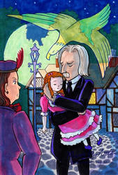 The Eagle Doctor's little daughter by FireFiriel