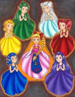 Maidens of Hyrule by FireFiriel