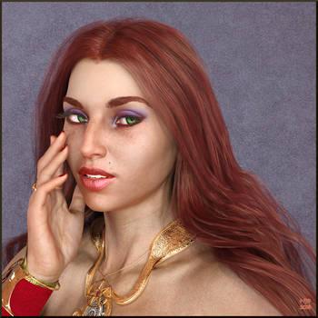 Lady Aura Lockhaven by Nathanomir