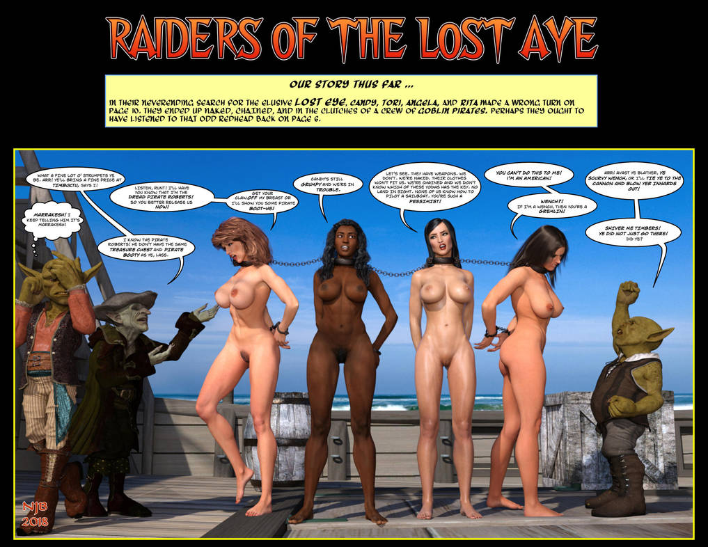 Raiders of the Lost Aye by Nathanomir