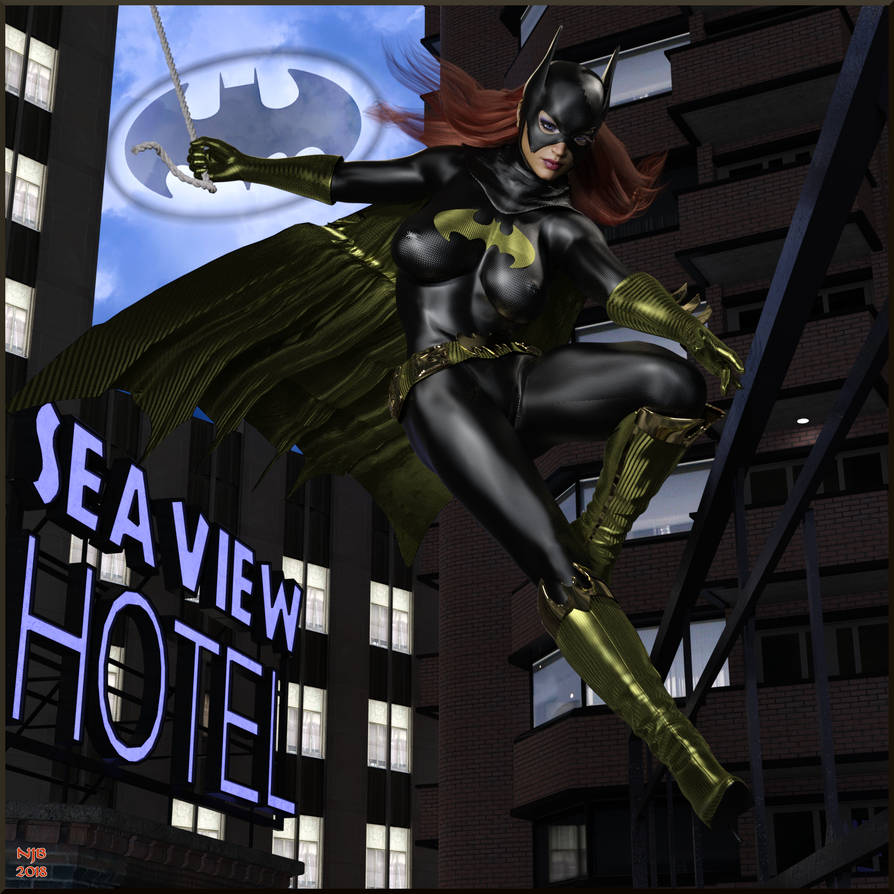 Shadow of the Bat 3 by Nathanomir