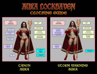 Aura Lockhaven Clothes Guide by Nathanomir