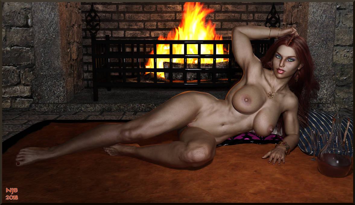 Aura Wallpaper Nude Variation by Nathanomir