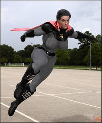 Soviet Superwoman by Nathanomir