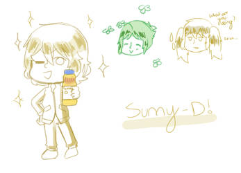 SUNNY D by Gradient-Of-Gold