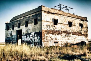 Graffitti Building by clinekurt78