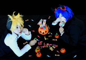 Happy Halloween by Dark----ookami