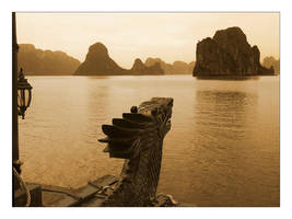 The AncientBeauty of HalongBay by lorrainemd