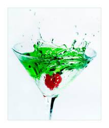 GreenAppleSplash by lorrainemd