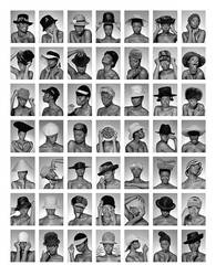 One Person - 50 Hats by lorrainemd