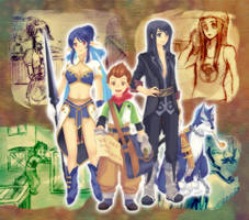 We are Brave Vesperia by greenringchan