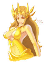 lol leona cocktail dress lol by bluelightt