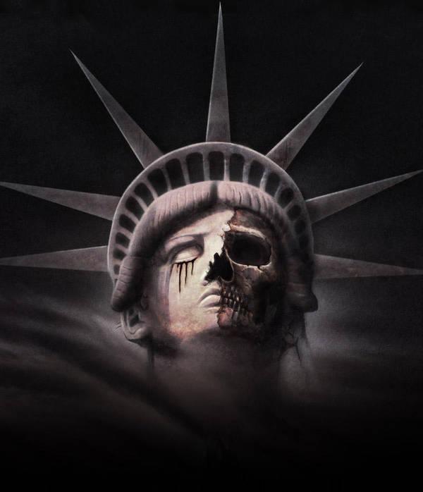 Miss Liberty Decayed by RainerKalwitz