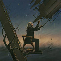 The Astronomer by RainerKalwitz