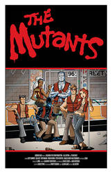 The Mutants: X-Men as The Warriors by calslayton