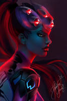 Shh, go to sleep - WIDOWMAKER by JhessyJay