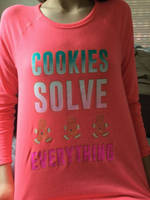 COOKIES SOLVE EVERYTHING  by Taushap