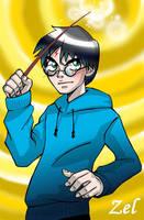 Harry Potter strange by LauraZel