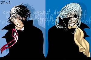 The opposites +BJ+ by LauraZel