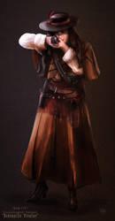 Ana the Gunslinger by nma-art