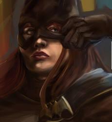 Batgirl Work in Progress by nma-art