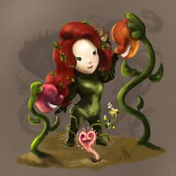 Chibi Poison Ivy by nma-art