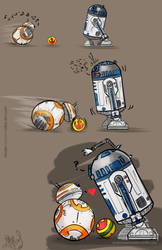 Droid Playtime by nma-art