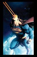 Kirby Superman Final by dcjosh