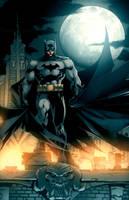 Jim Lee Batman by dcjosh