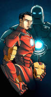 KidNotorious Iron Man by dcjosh