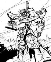 Behold....Galvatron by dcjosh