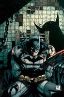 Batman 674 practice colors by dcjosh