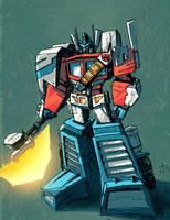KOR Optimus Prime by dcjosh