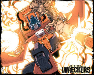 Wreckers 4 wall Pyro Special by dcjosh