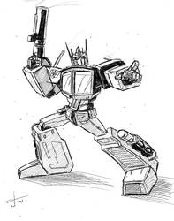 Optimus by dcjosh