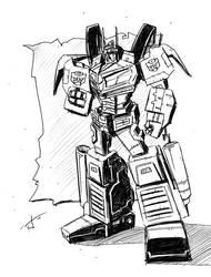 WFC optimus doodle by dcjosh