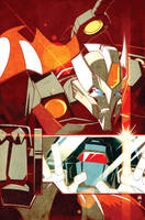 MTMTE issue 4 cover by dcjosh