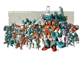 AutoAssembly Nick Roche print COLORS by dcjosh