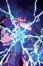 Dark Cybertron issue 12 Casey cover by dcjosh