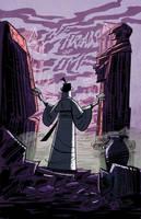Samurai Jack issue 3 pg1 by dcjosh
