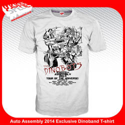 Auto Assembly 2014 The Dinobots Tshirt by dcjosh