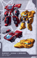 War Within Ironhide n Bee by dcjosh
