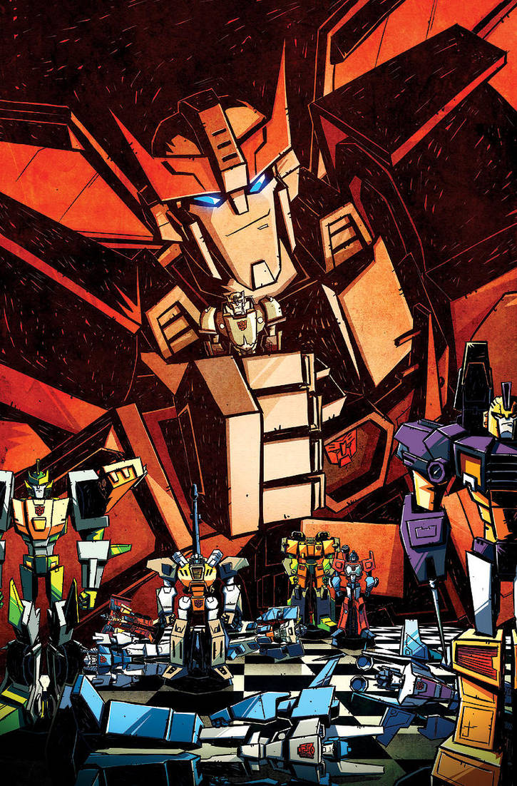 Sins of the Wreckers 4 incentive cover by dcjosh