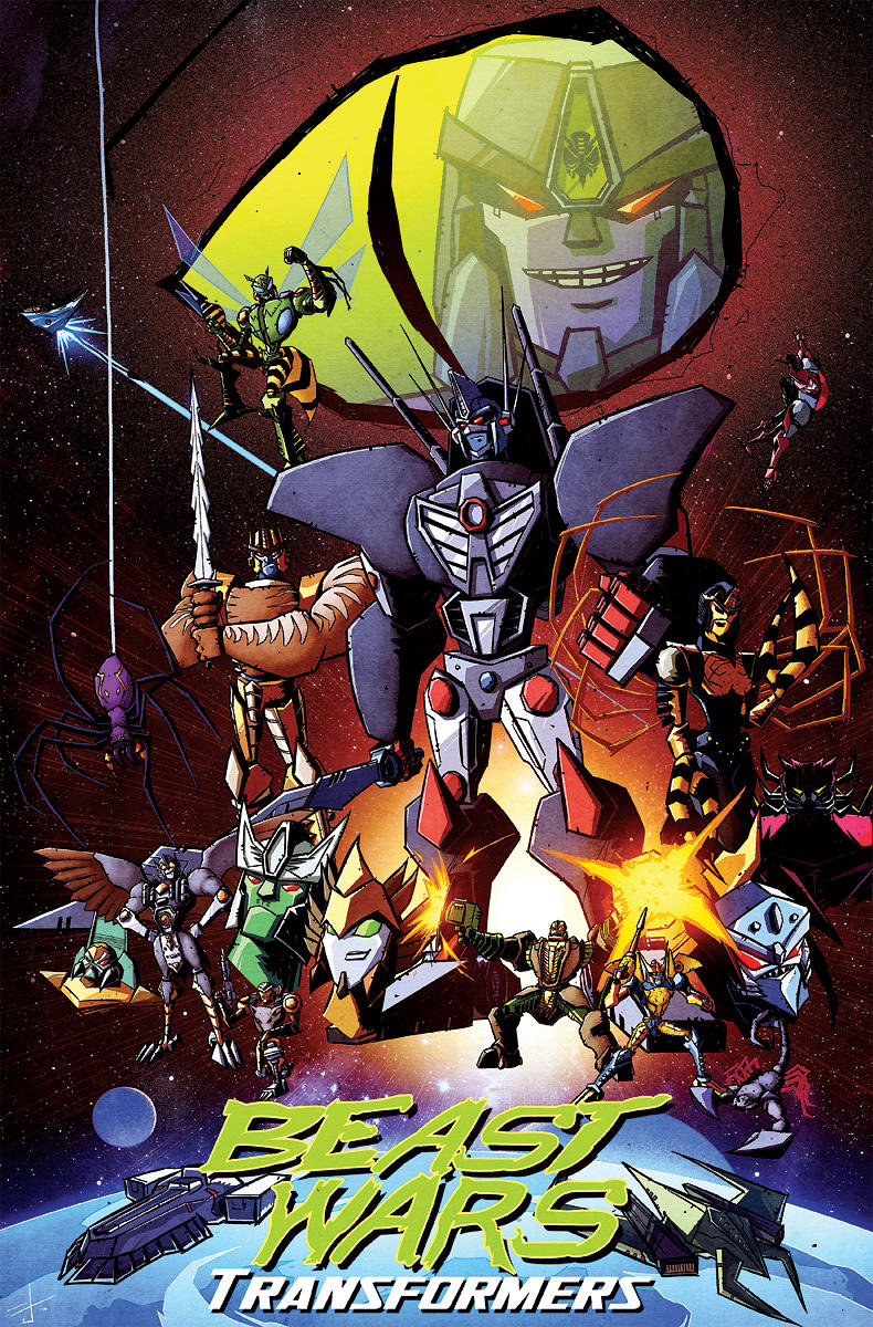 Beast Wars 20th anniversary by dcjosh