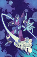 Lost Light #1 cover by dcjosh